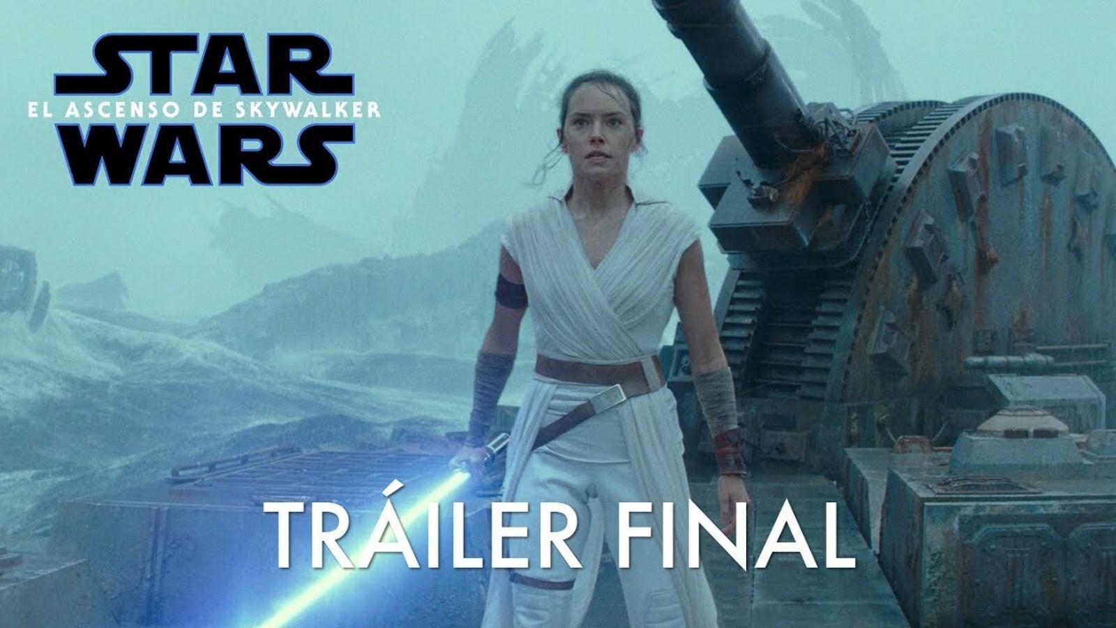 Arriba el tràiler final de 'Star Wars 9'