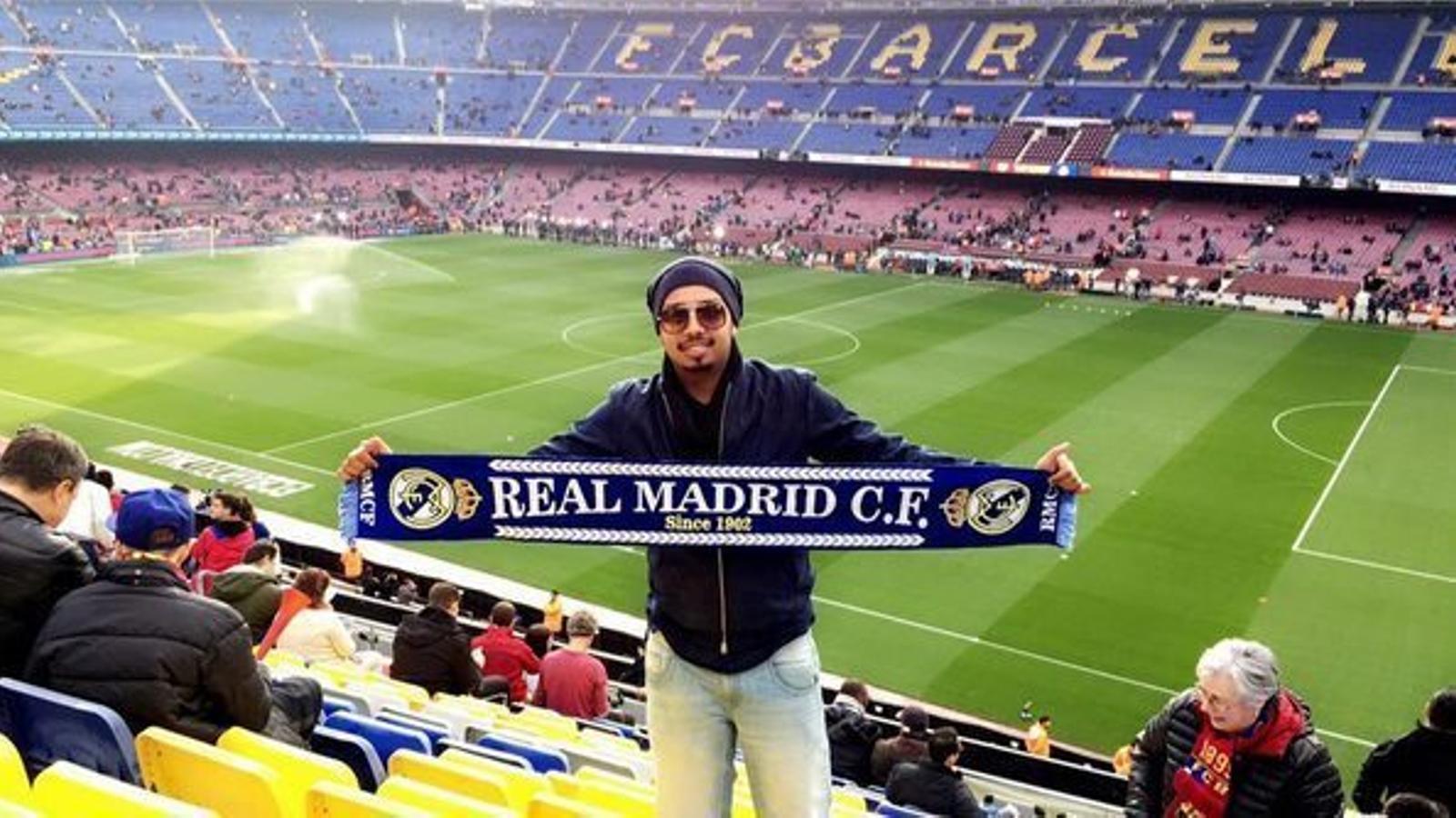Anar al Camp Nou amb la bufanda del Madrid és una qüestió de diners