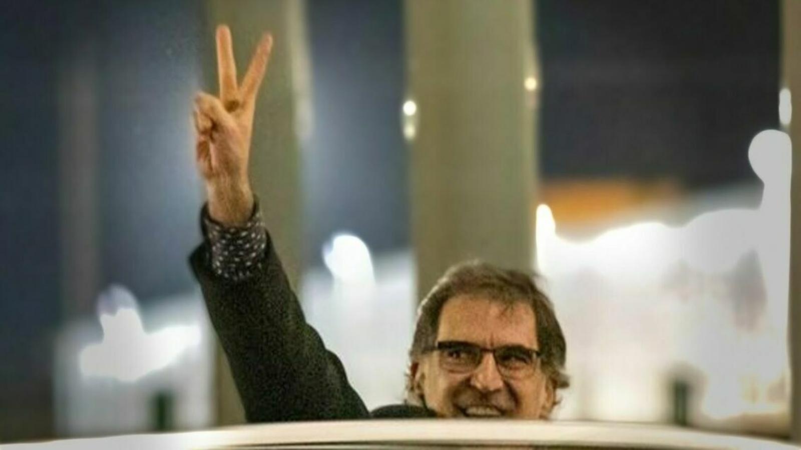 La justícia autoritza el permís de 72 hores a Cuixart tot i l'oposició de la Fiscalia