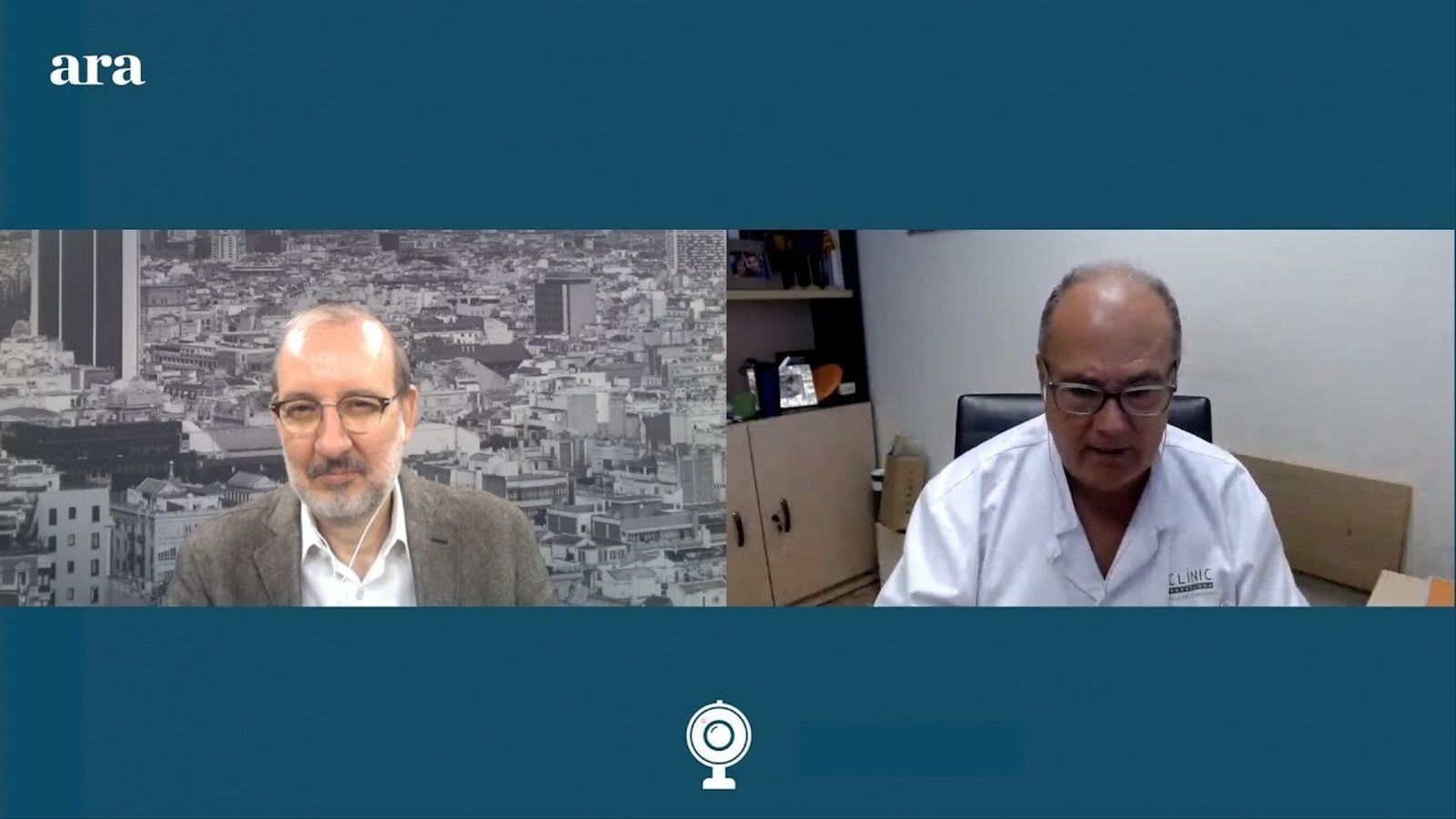 Entrevista d'Antoni Bassas al dr. Antoni Trilla
