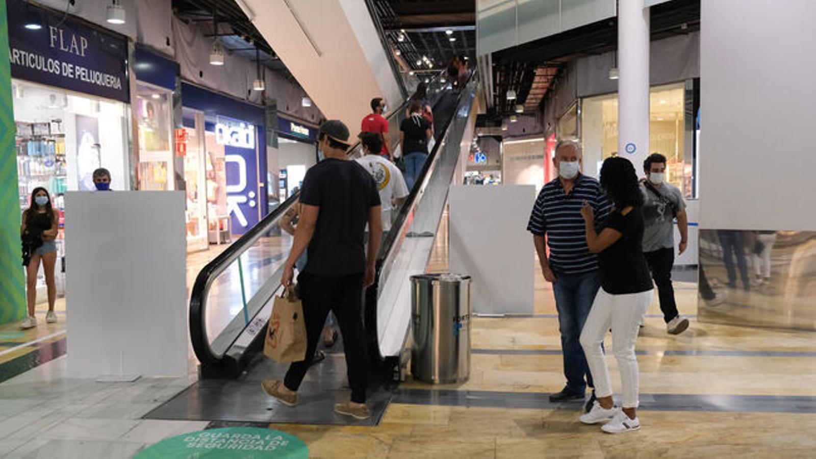 Un centre comercial de Palma