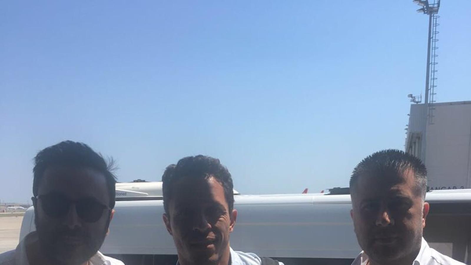 Adriano, a la seva arribada a Istanbul