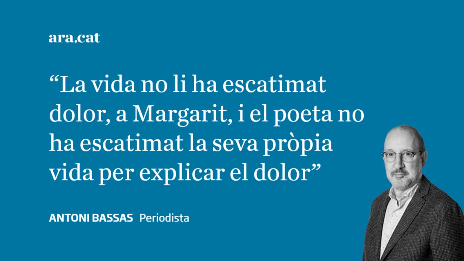 Felicitats, estimat Joan Margarit