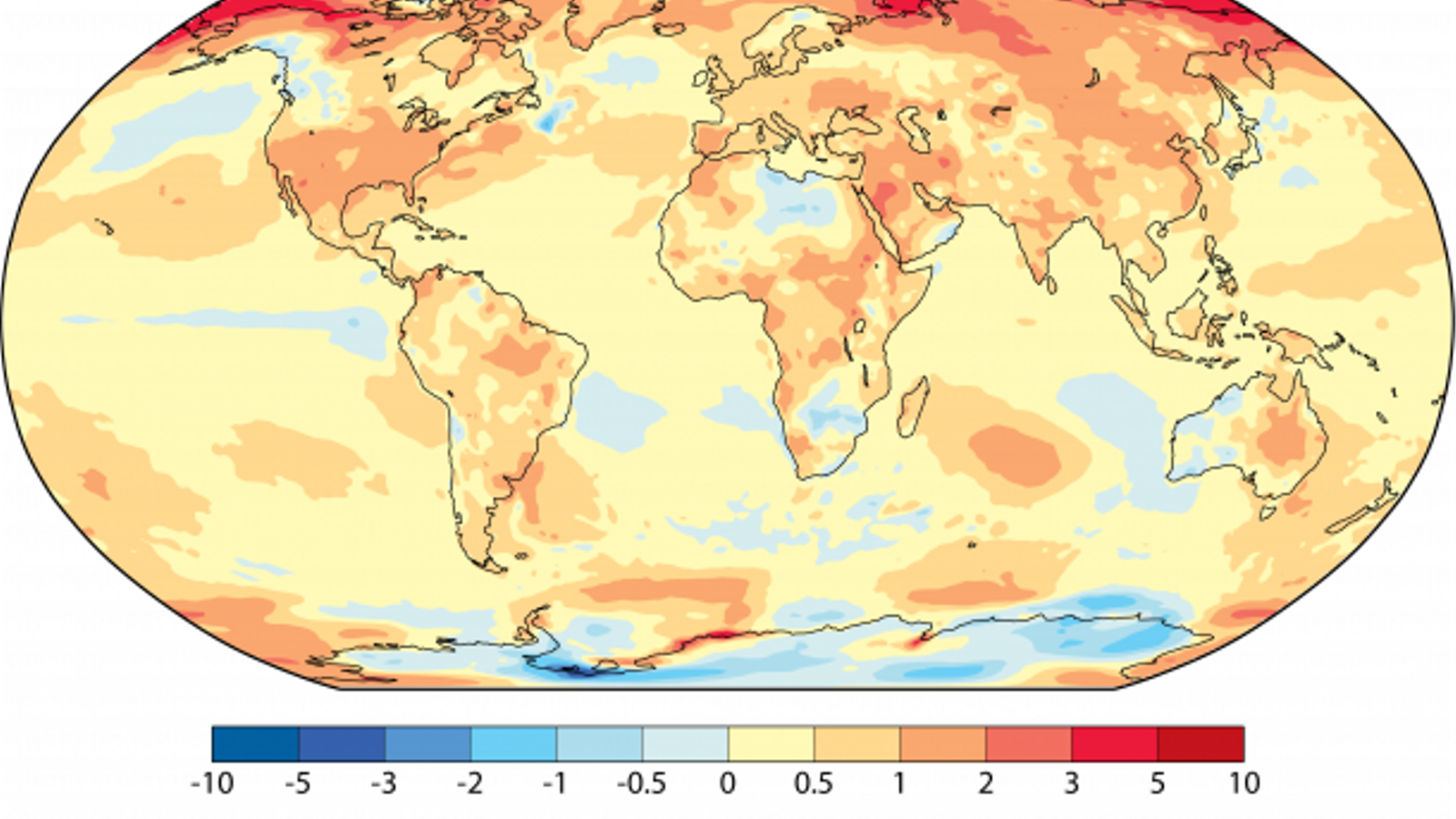Els últims tres anys han estat més càlids que qualsevol altre des que hi ha registres