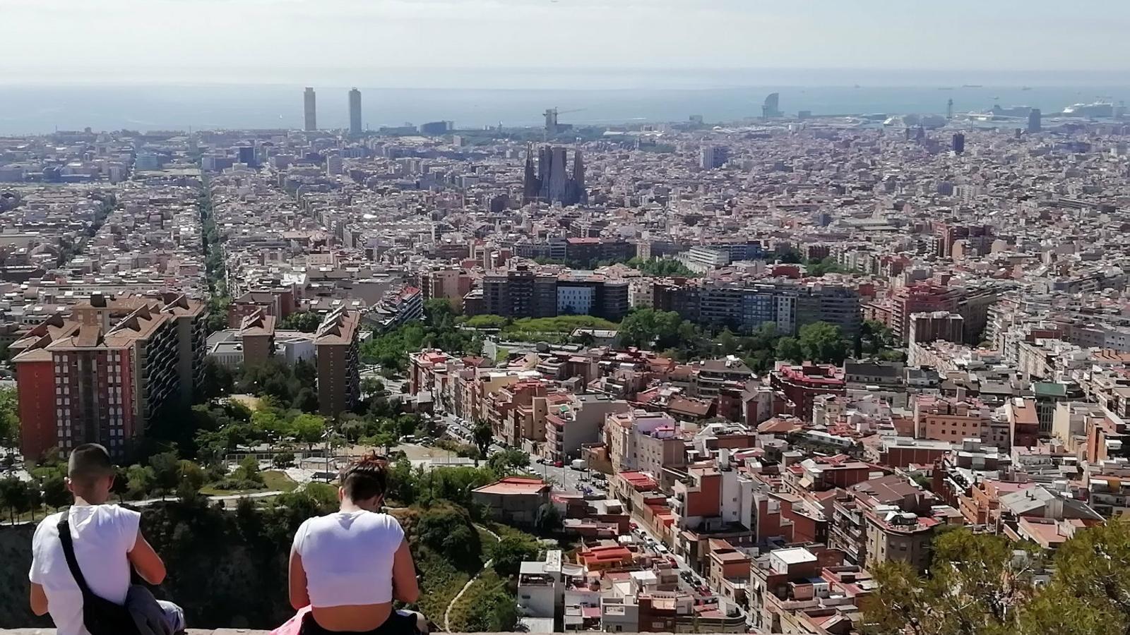 Barcelona  a la vista!  BARCELONA
