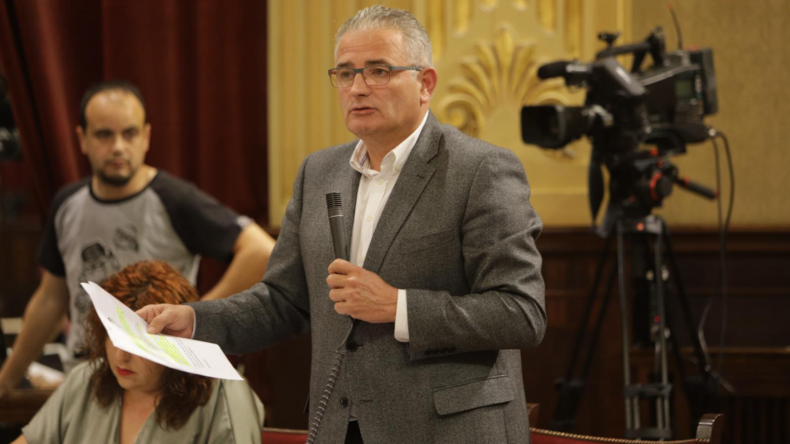 El portaveu d'El Pi, Jaume Font.