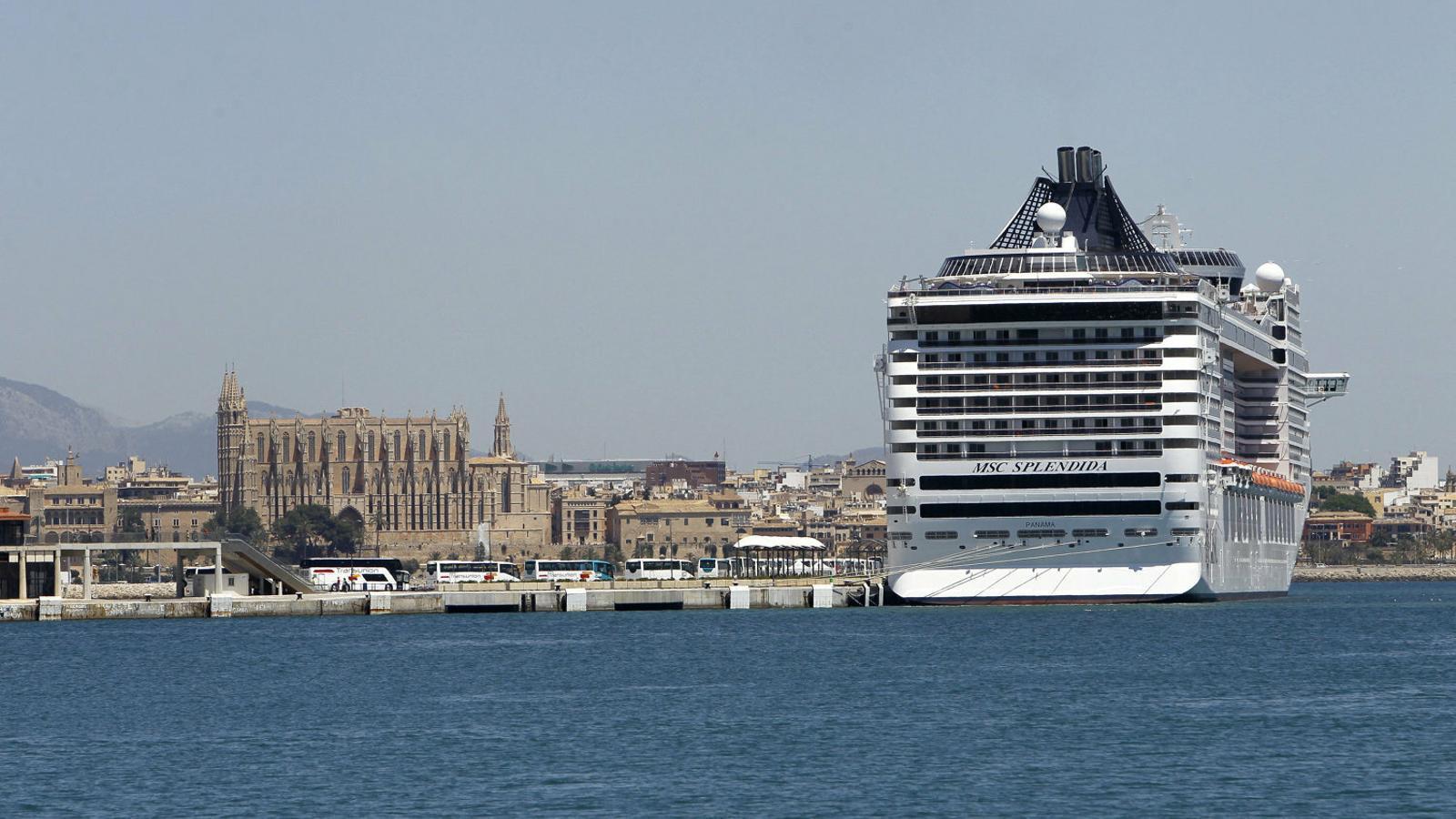 Palma és la segona ciutat europea més contaminada pels creuers