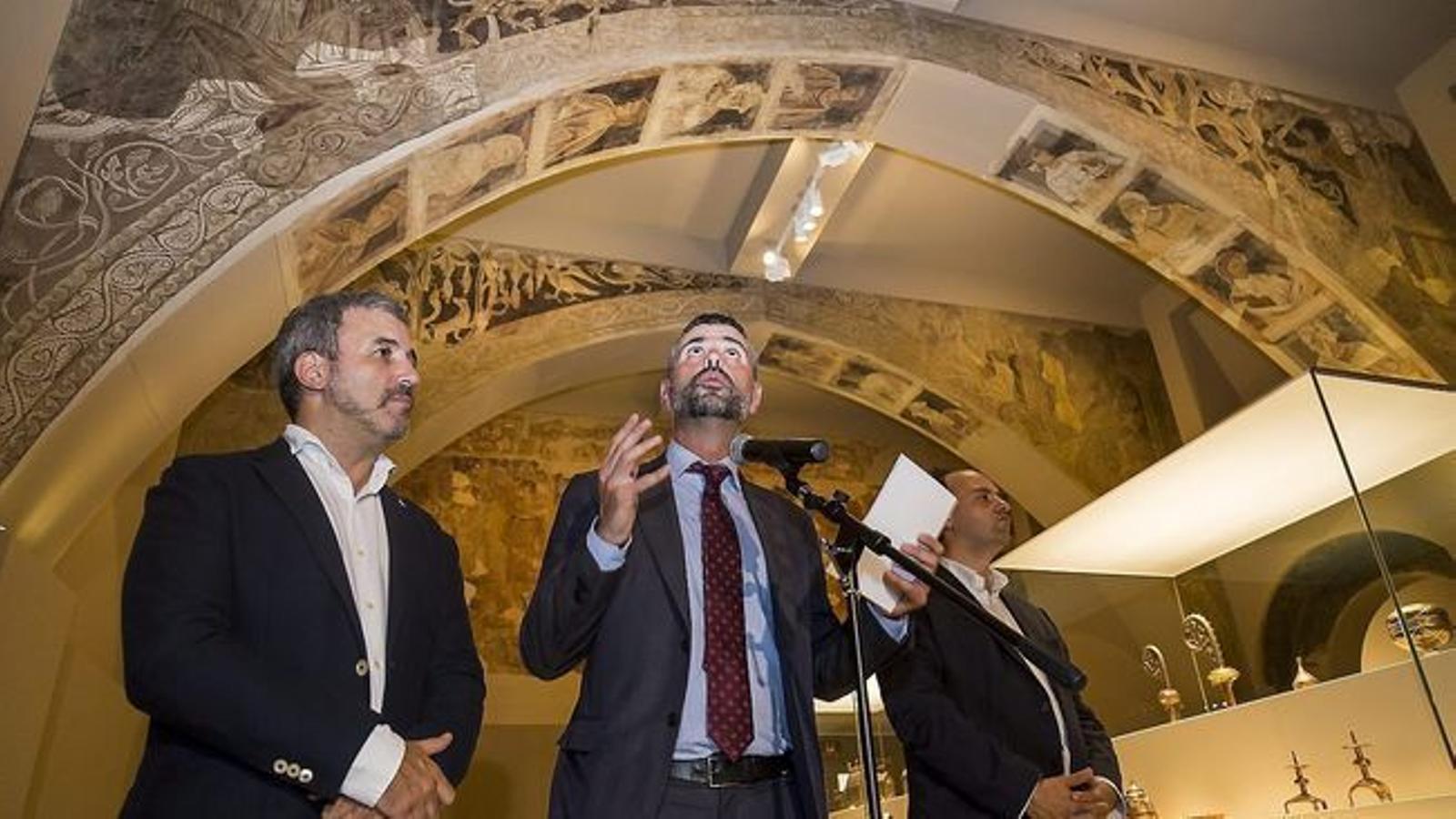 Santi Vila va comparèixer al MNAC al juliol després de dues sentències contràries a Catalunya en el cas Sixena