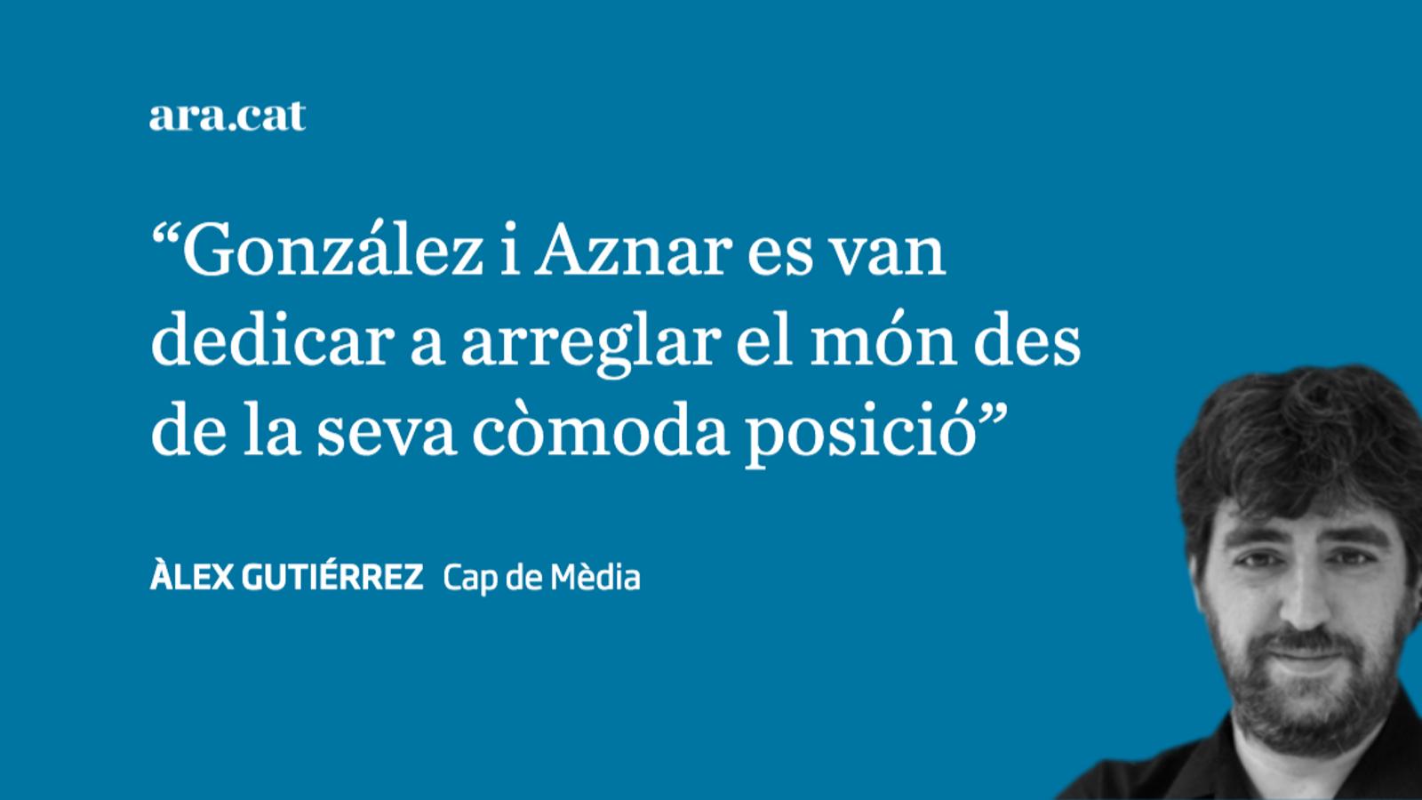 González i Aznar arreglen Espanya des del sofà