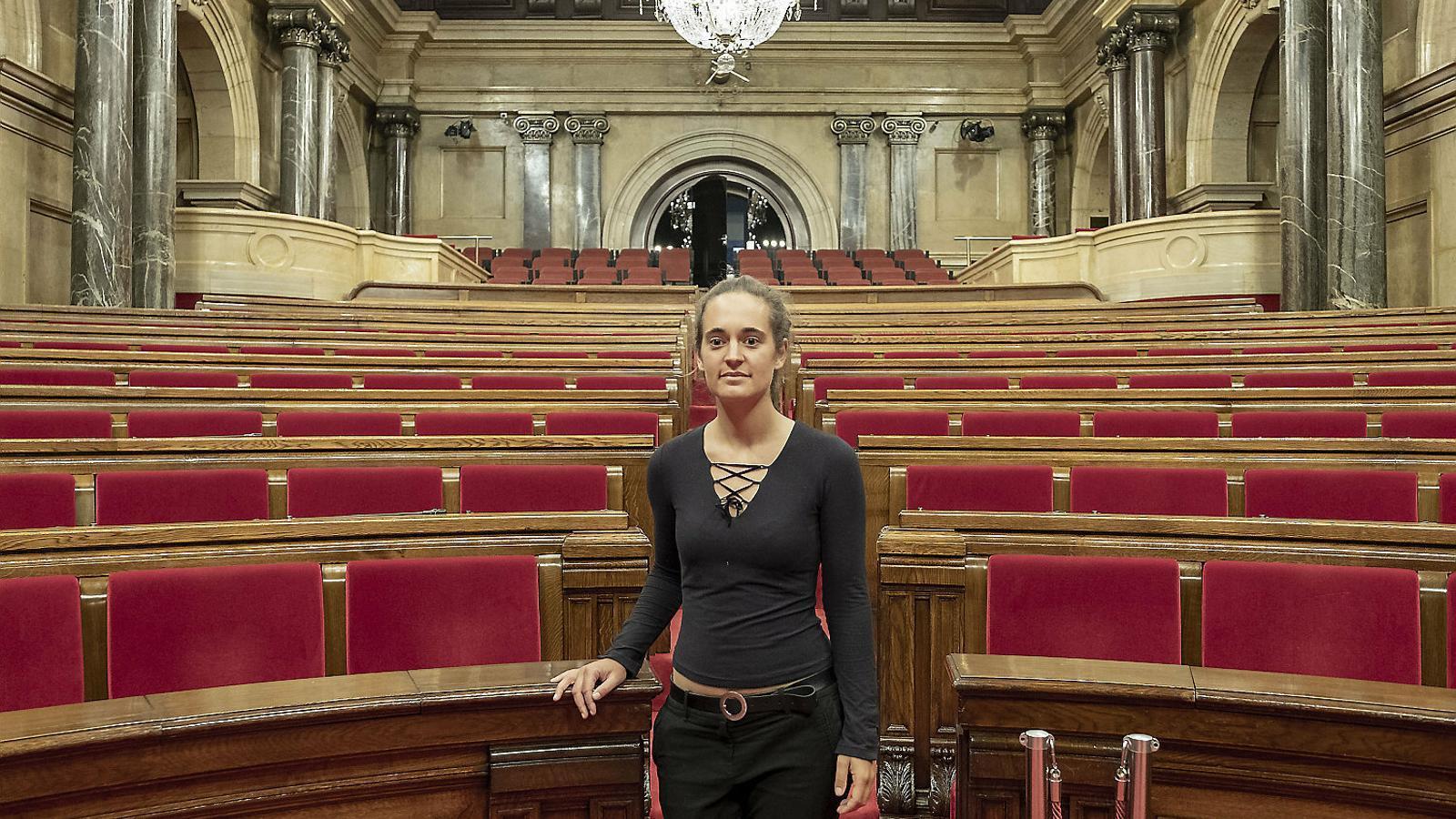 """Carola Rackete: """"És tràgic que a Catalunya hi hagi presos polítics"""""""