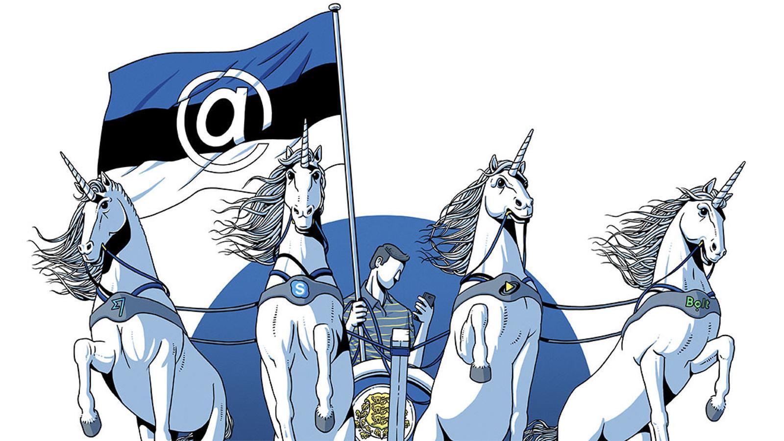 Estònia,  el miracle dels quatre unicorns