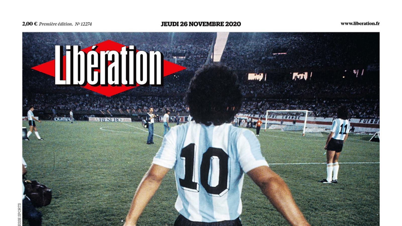 Portada de 'Libération'