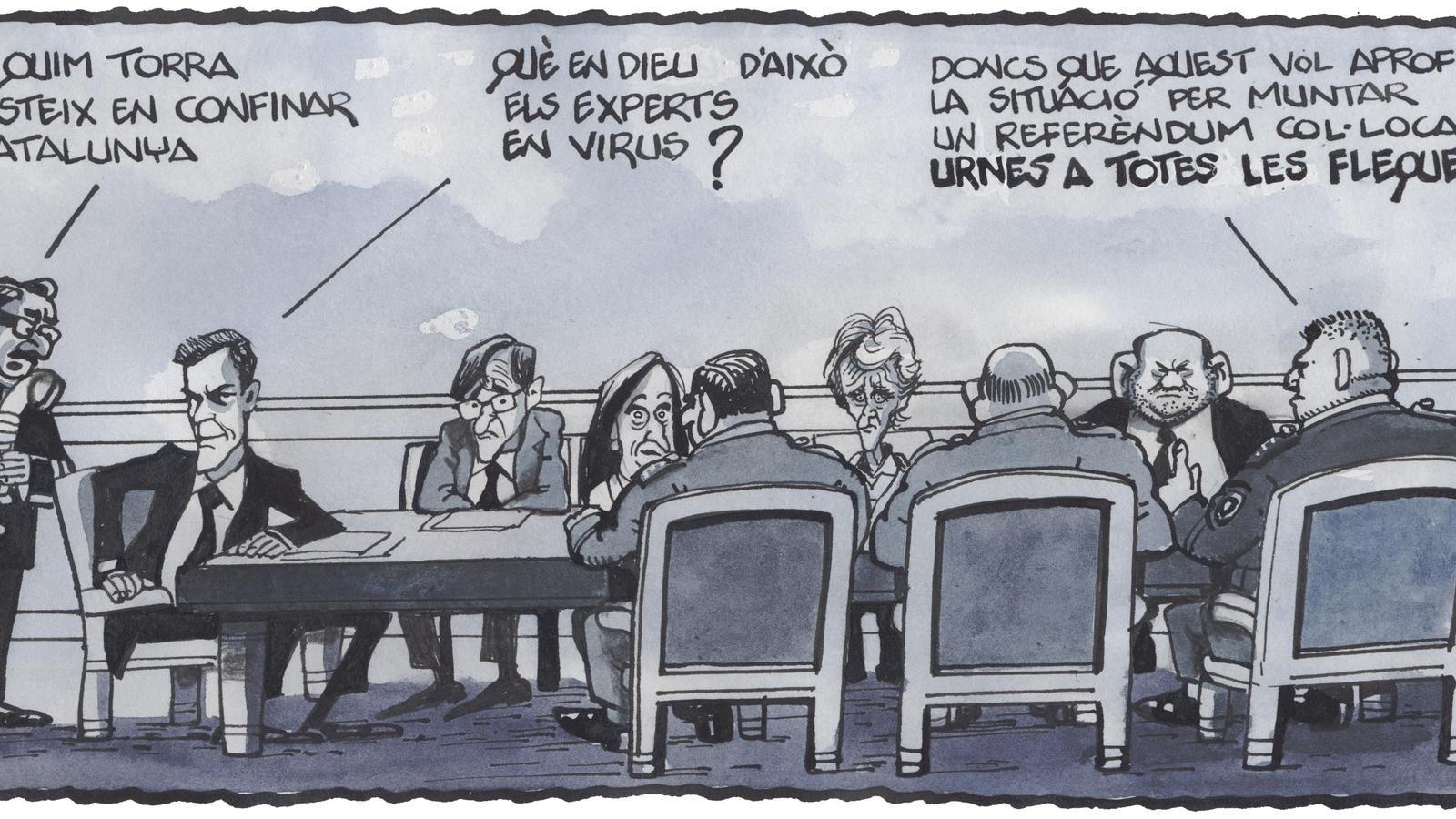 'A la contra', per Ferreres 24/03/2020