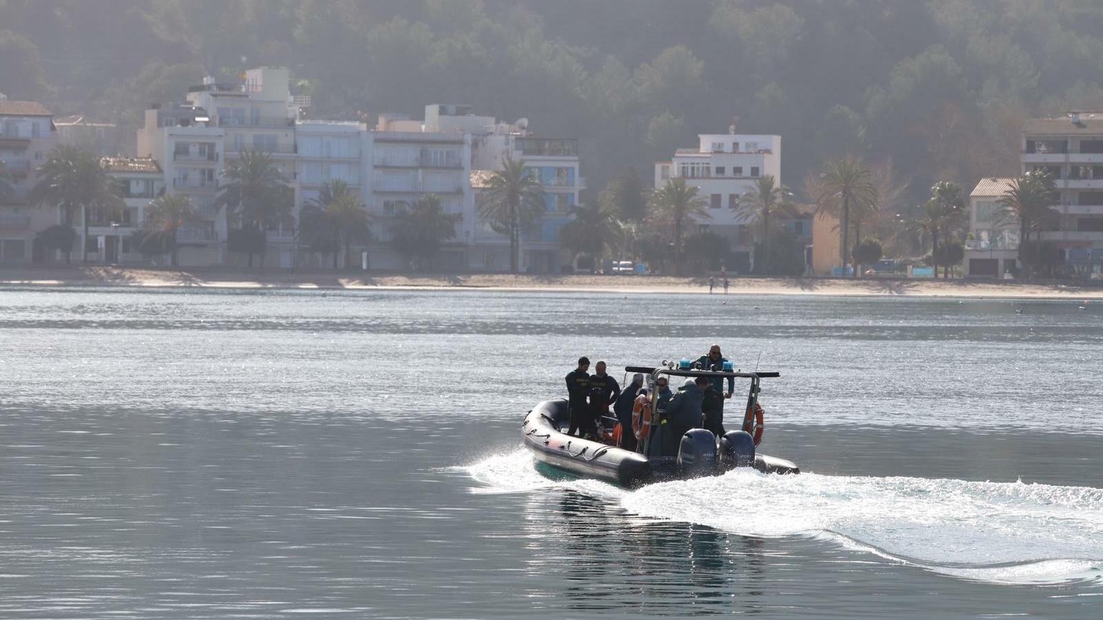 Continua la recerca per mar del barranquista desaparegut a Mallorca durant la borrasca Glòria