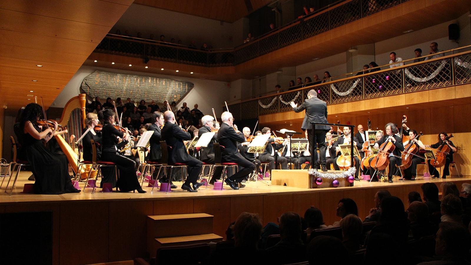 Tradicional Concert de Cap d'Any ofert per l'ONCA