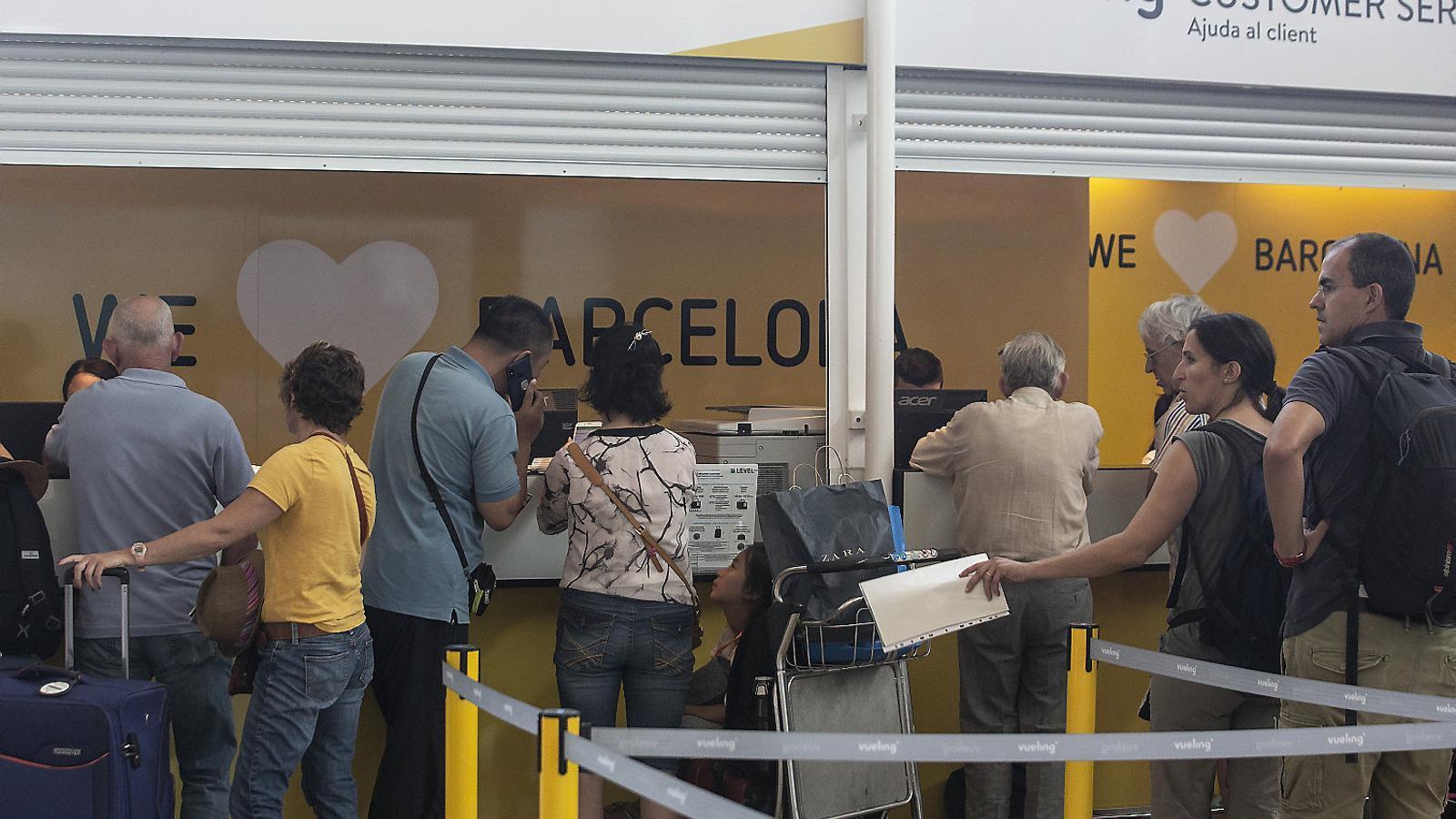 L'aerolínia catalana ha multiplicat per cinc el nombre de reclamacions registrades al portal Reclamador.es.