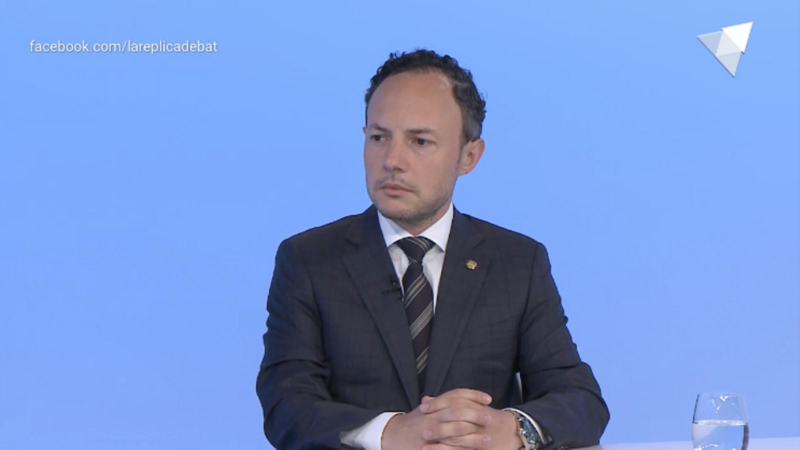 El cap de Govern, Xavier Espot, aquest dijous a RTVA