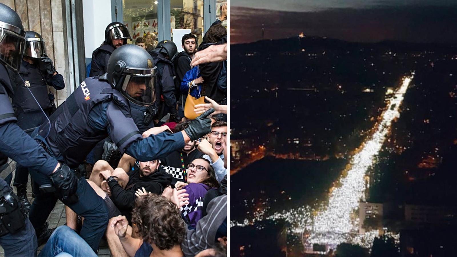 L'anàlisi d'Antoni Bassas: 'L'estat és fort perquè fa servir la força. Catalunya és forta perquè és'