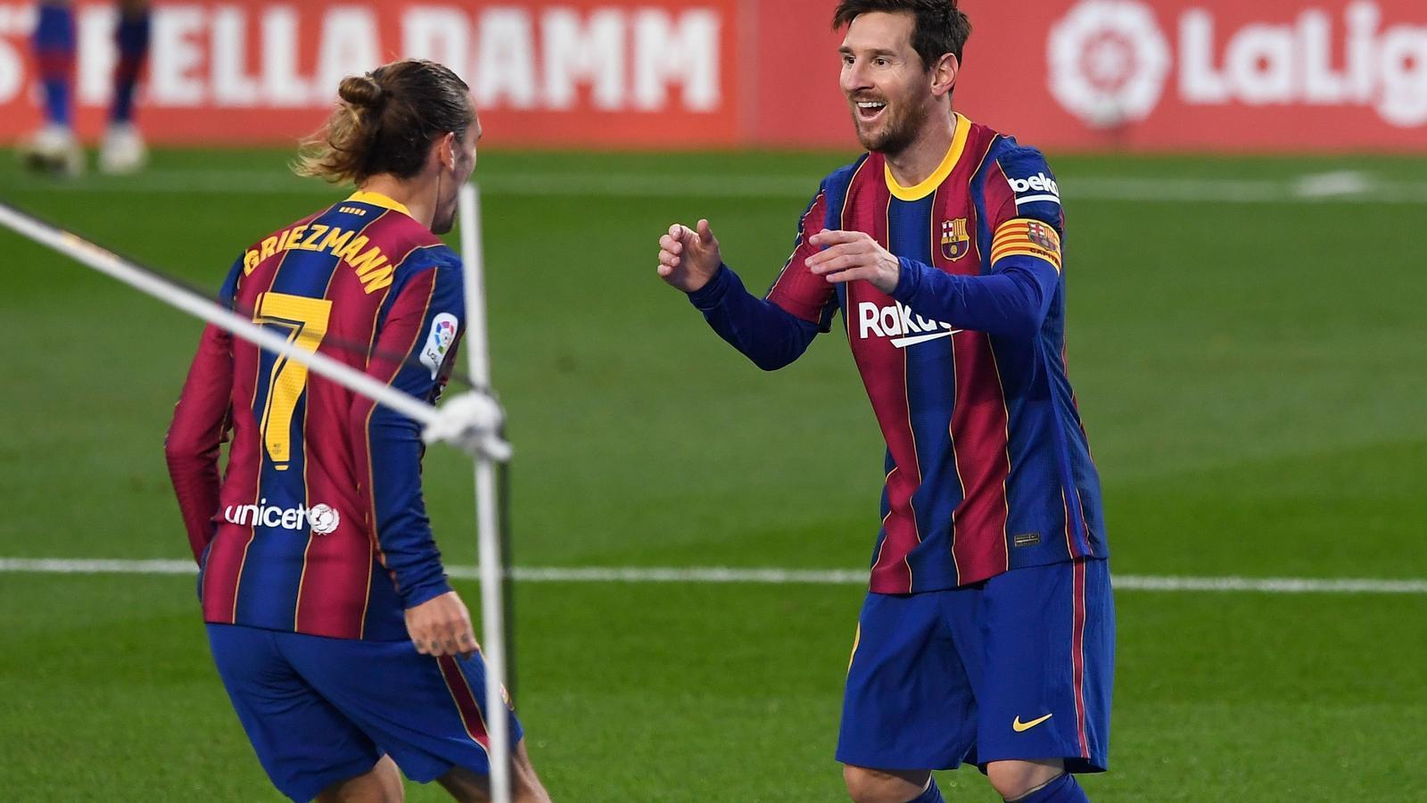 El dia que Messi va decidir que la sort de Griezmann canviés