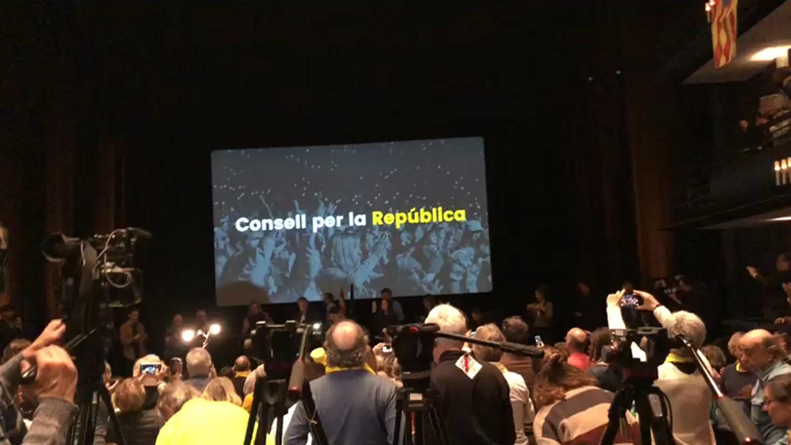 Presentació del Consell per la República
