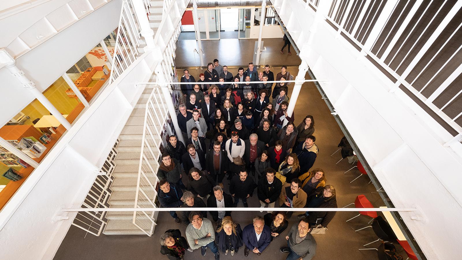 La presentació de la nova etapa de La Marfà de Girona ha reunit diversos artistes