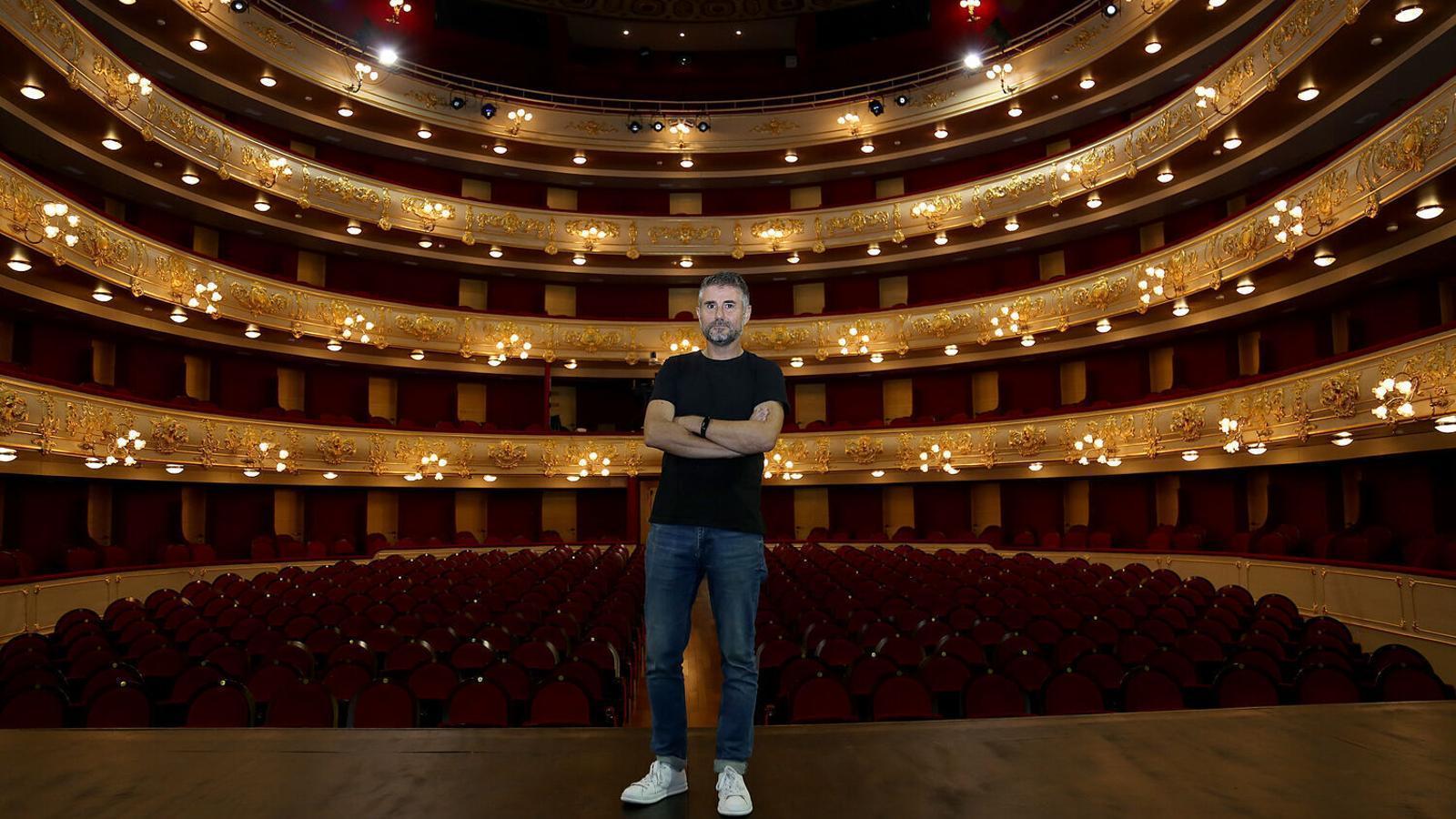 El director del teatre Principal, Josep Ramon Cerdà