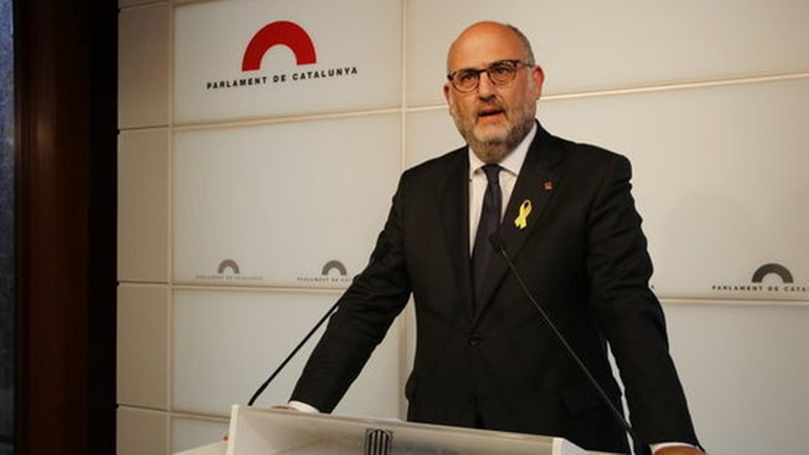 """JxCat insisteix que la investidura de Puigdemont """"no té data"""": """"És una idea de legislatura"""""""