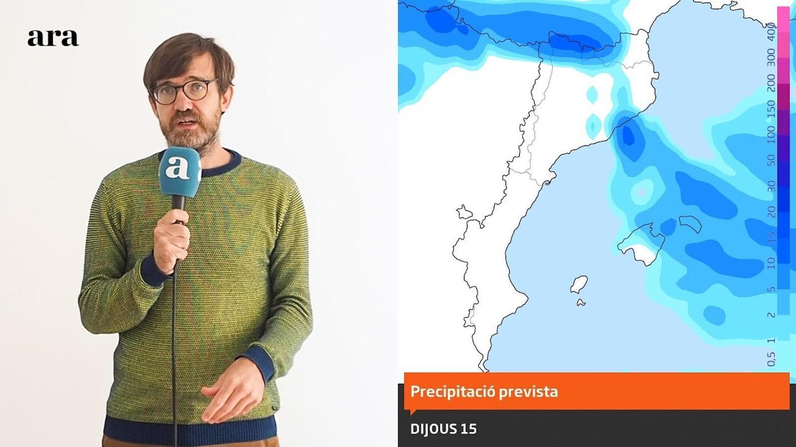 La méteo: tempestes puntuals abans d'un cap de setmana amb migdies més càlids