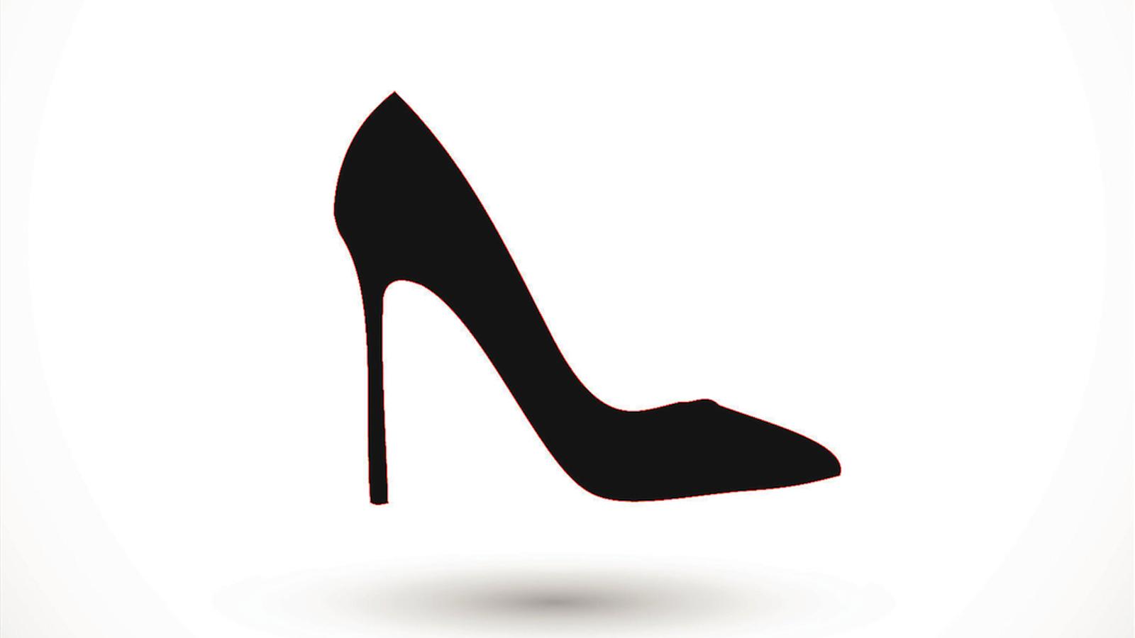 Il·lustració d'una sabata de tal·ló