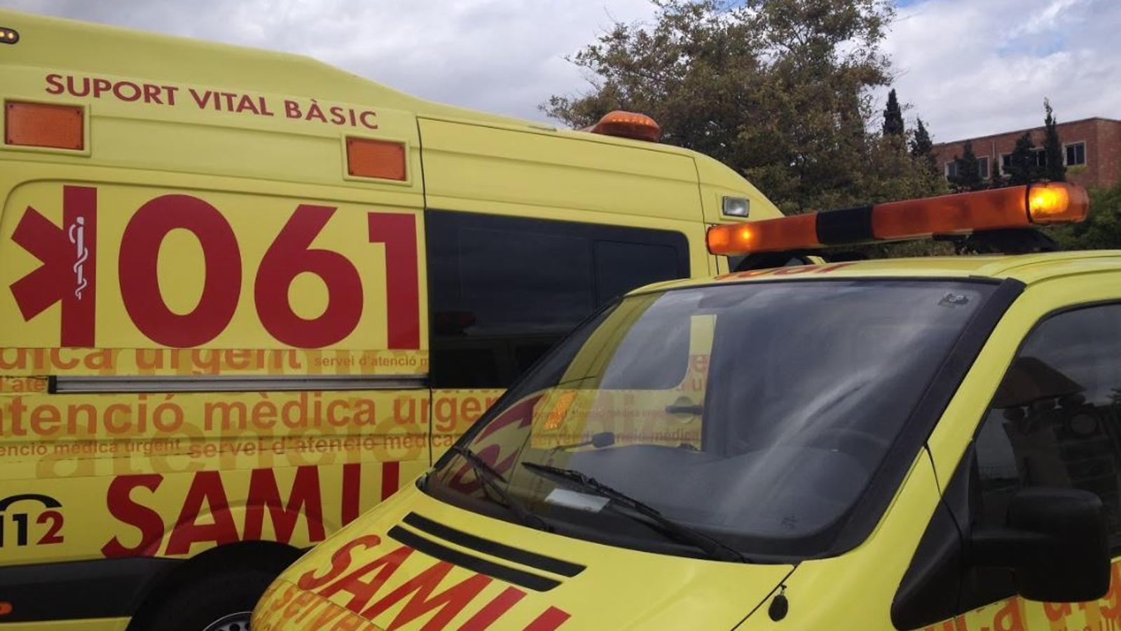Un ciclista en estat greu després de xocar amb un cotxe a Llucmajor
