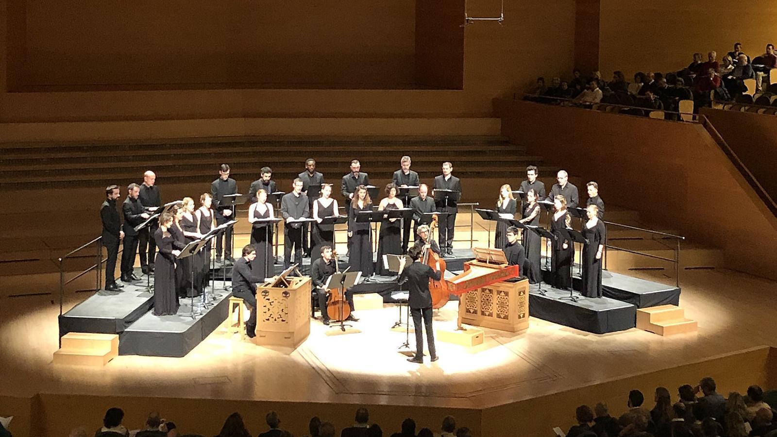 Pichon i l'Ensemble Pygmalion a L'Auditori.