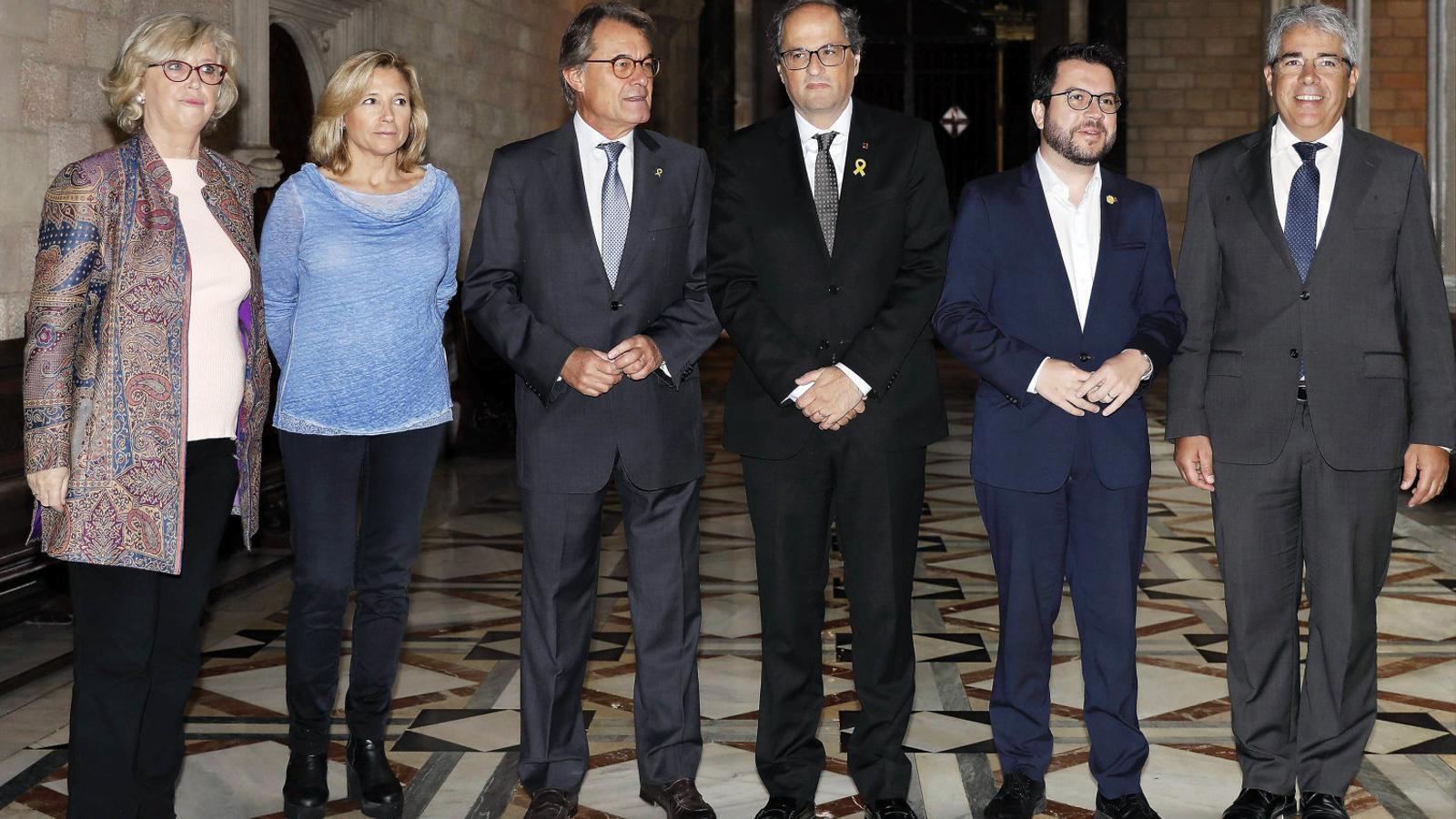 El TSJC manté Joana Ortega inhabilitada perquè creu que ha trencat la condemna i ha continuat treballant per al Govern