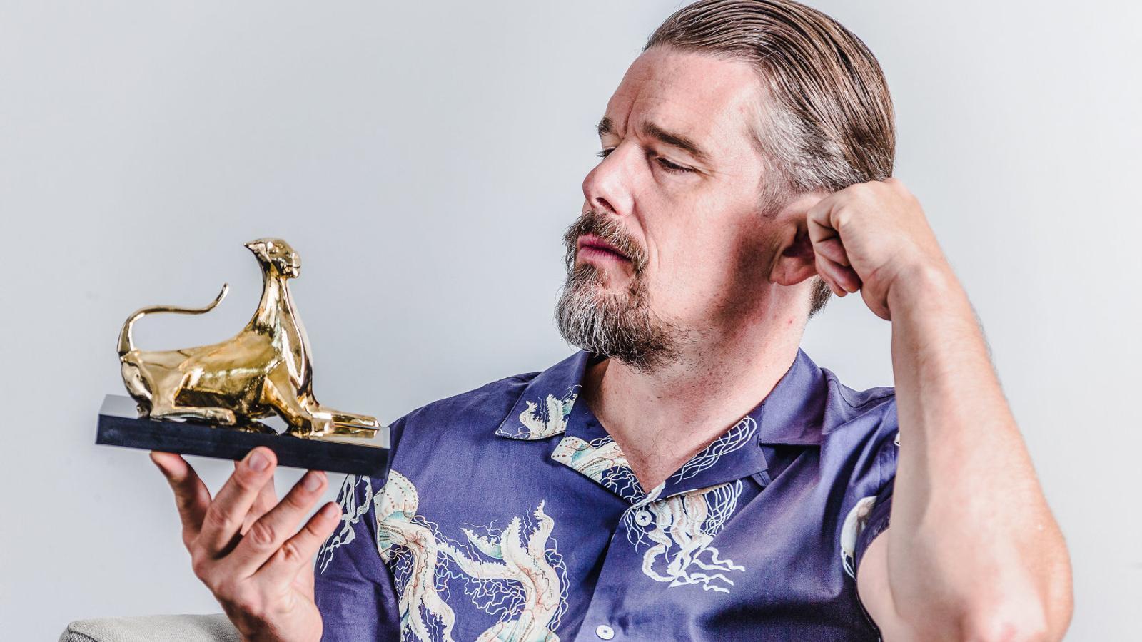 """ETHAN HAWKE: """"És molt   Millor no guanyar l'Oscar"""""""