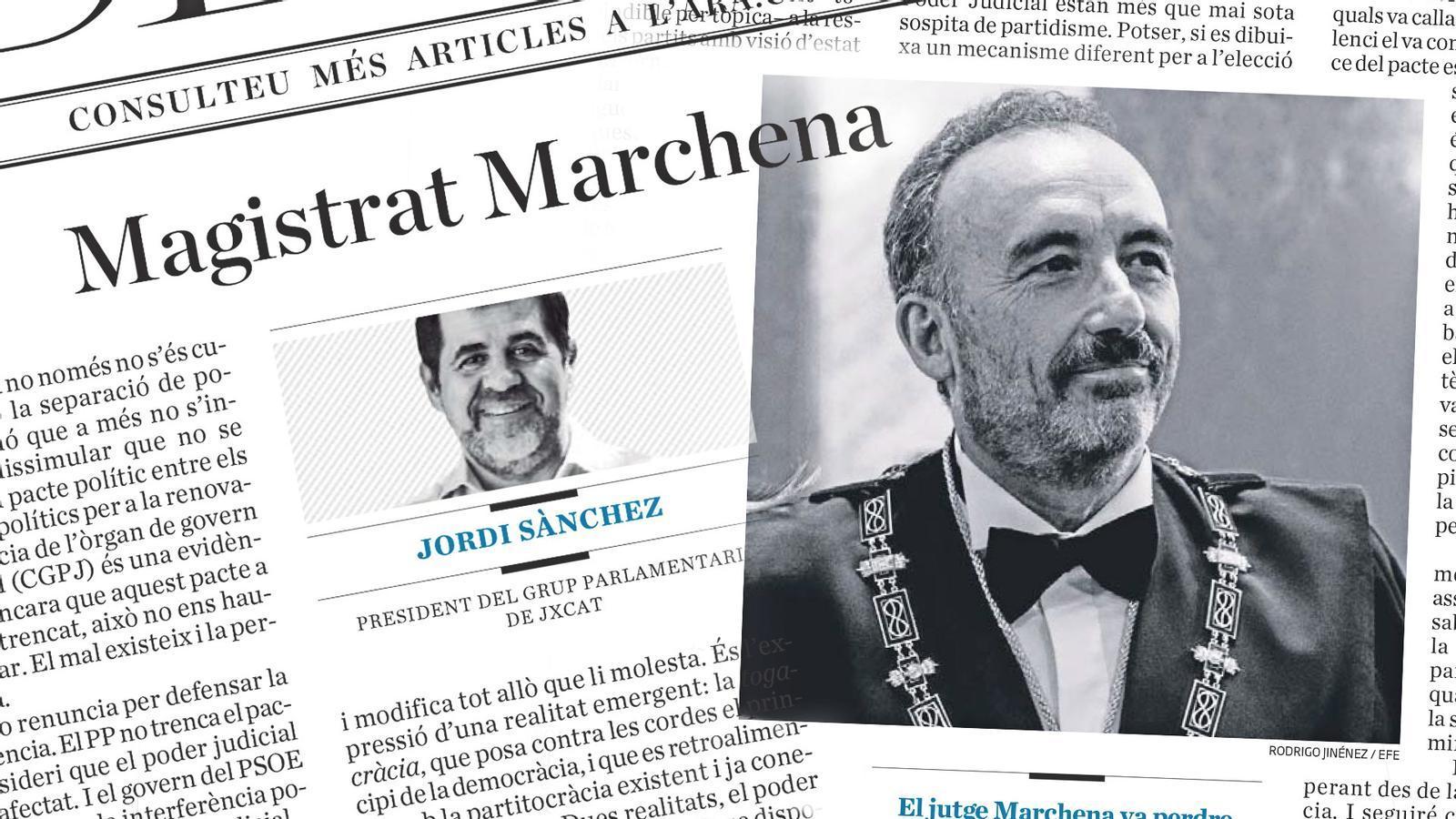 L'anàlisi d'Antoni Bassas: 'Jordi Sánchez, al magistrat Marchena: «¿Em podrà mirar als ulls?»'