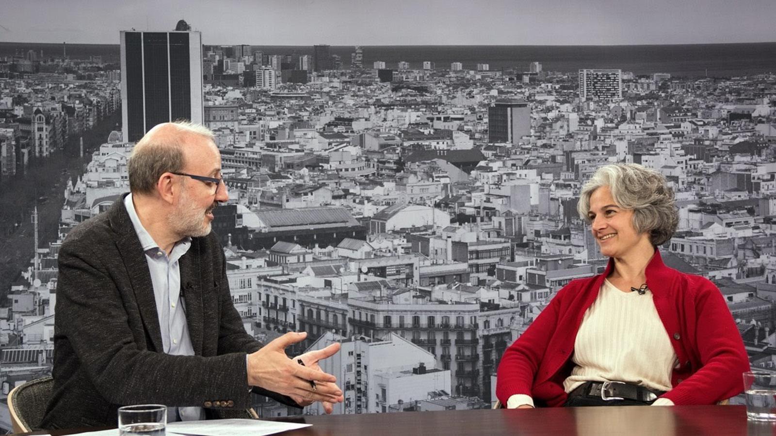Entrevista d'Antoni Bassas a Maria Bohigas
