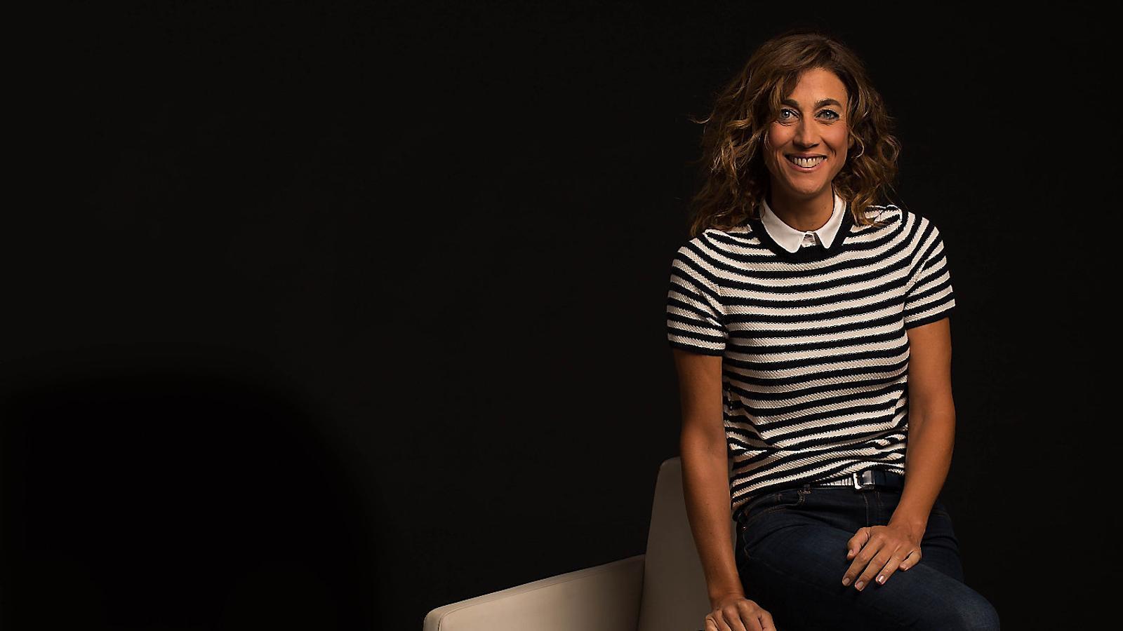 """Helena Garcia Melero : """"Presentar 'La Marató' en solitari  fa respecte i vertigen"""""""