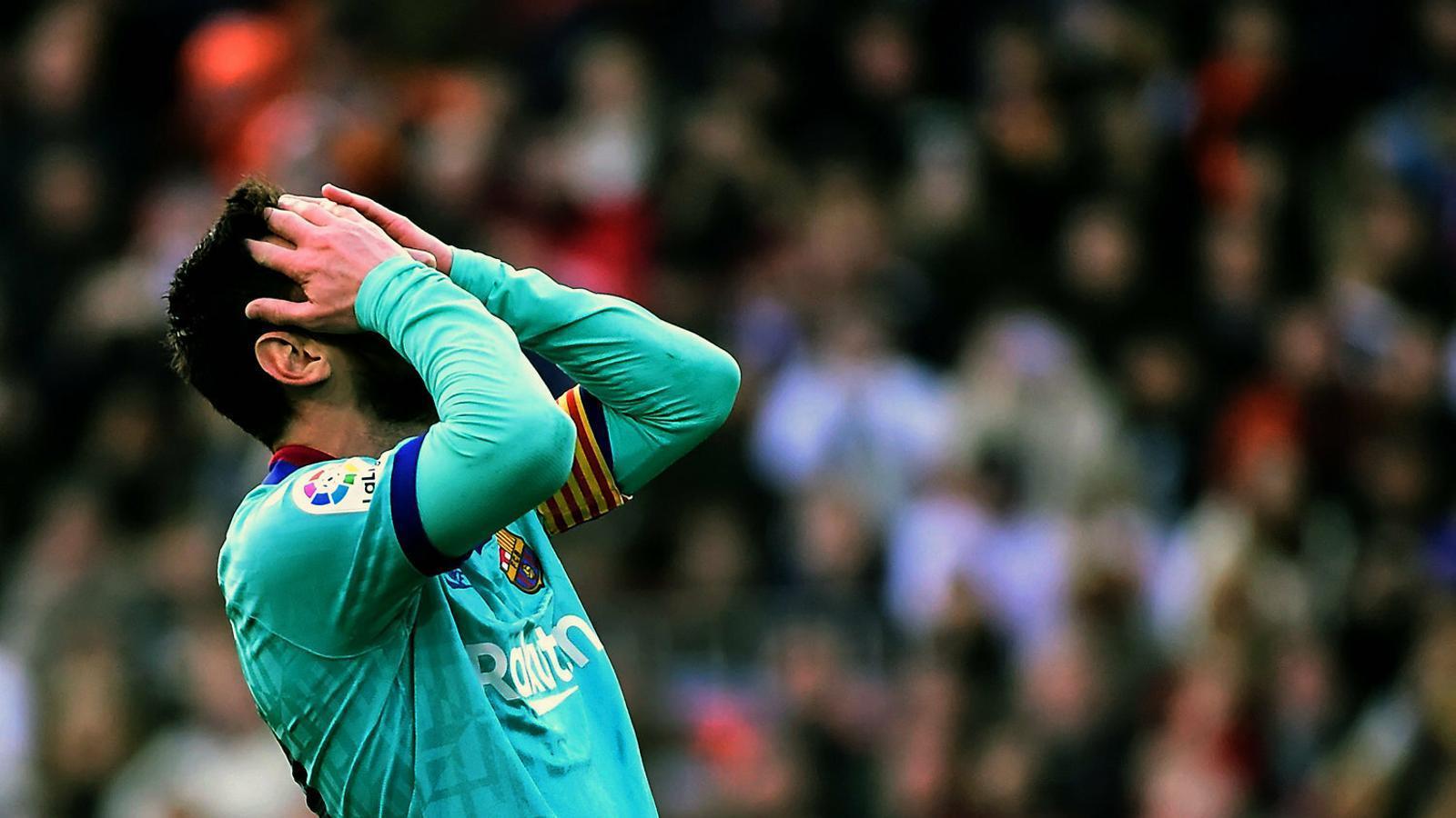 El Barça de Setién, contra el mirall i el temps