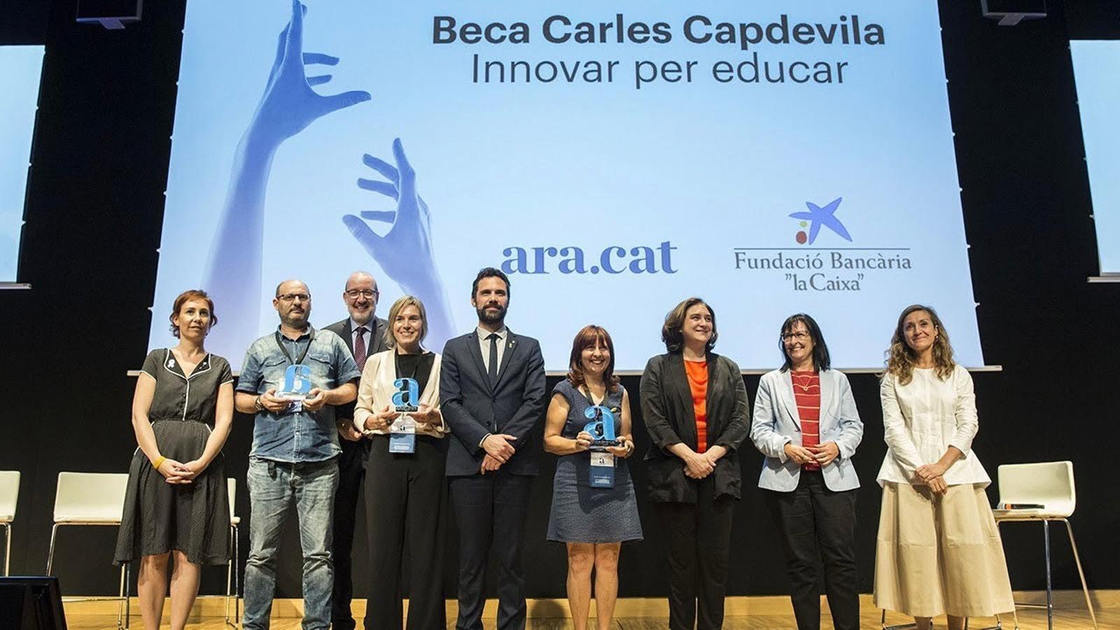 L'Escola La Maquinista de Barcelona guanya la primera beca Carles Capdevila