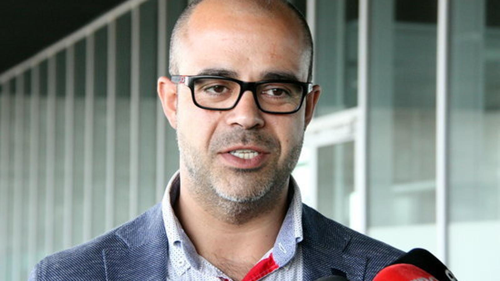 L'alcalde de Premià de Mar i president de l'Associació Catalana de Municipis, Miquel Buch