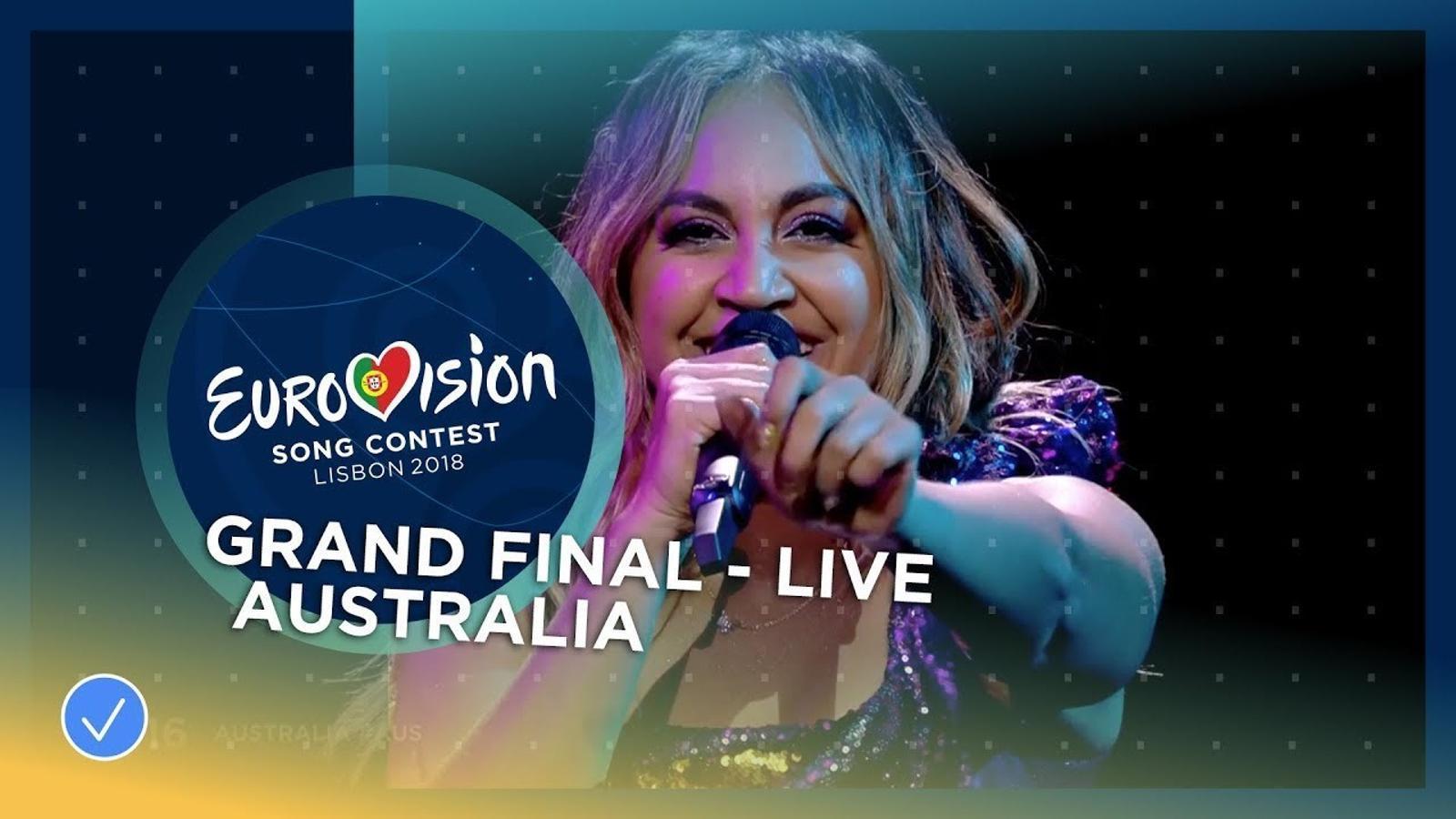 Actuació d'Austràlia a Eurovisió 2018