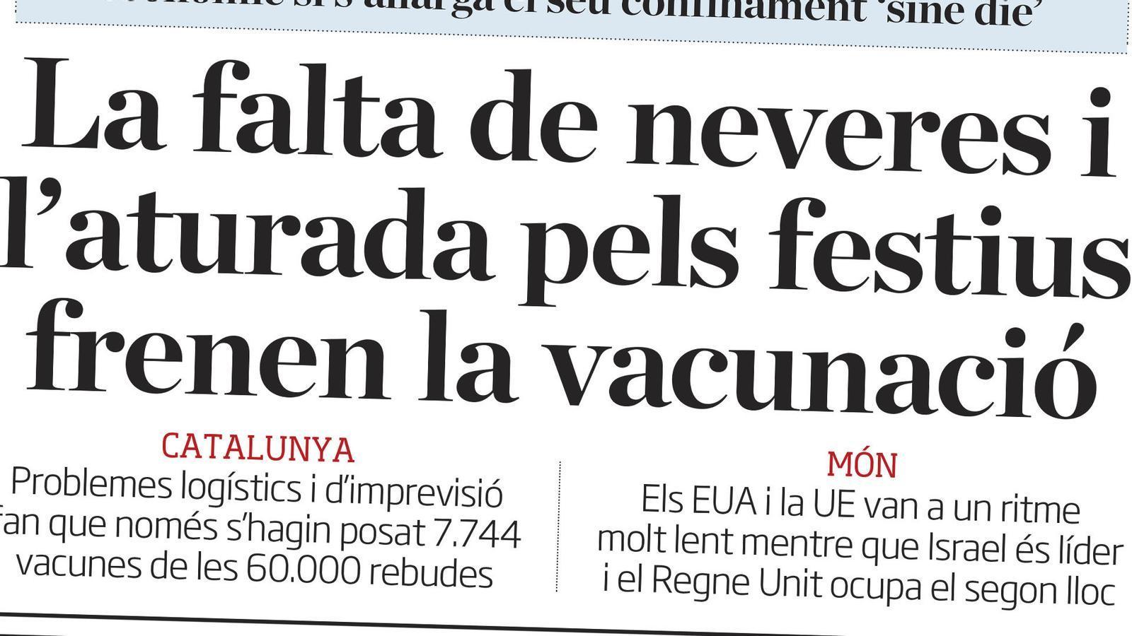 L'anàlisi d'Antoni Bassas: 'Vacunes, la rave de Llinars i l'autoexigència a Catalunya'