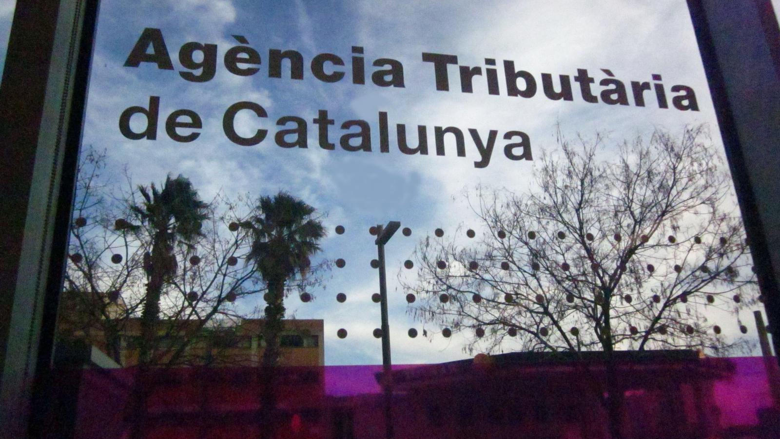 Imatge de la seu central de l'Agència Tributària de Catalunya, a Barcelona