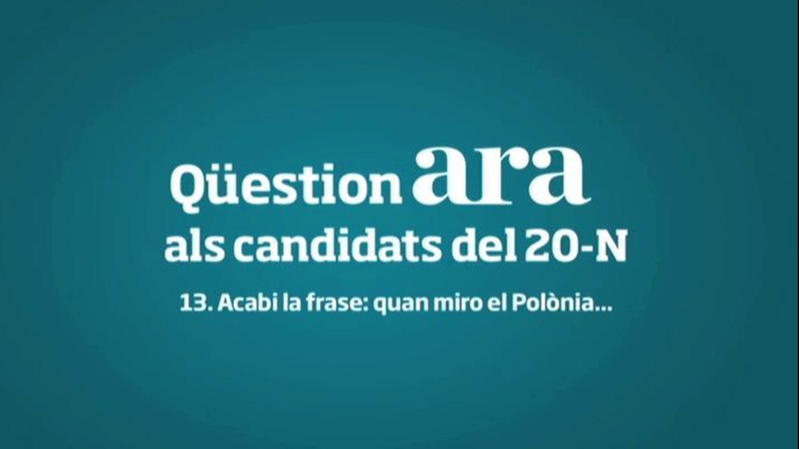 Chacón: Em truquen els meus nebots i em diuen que m'han vist al 'Polònia' amb una carpeta amb fotos de Zapatero