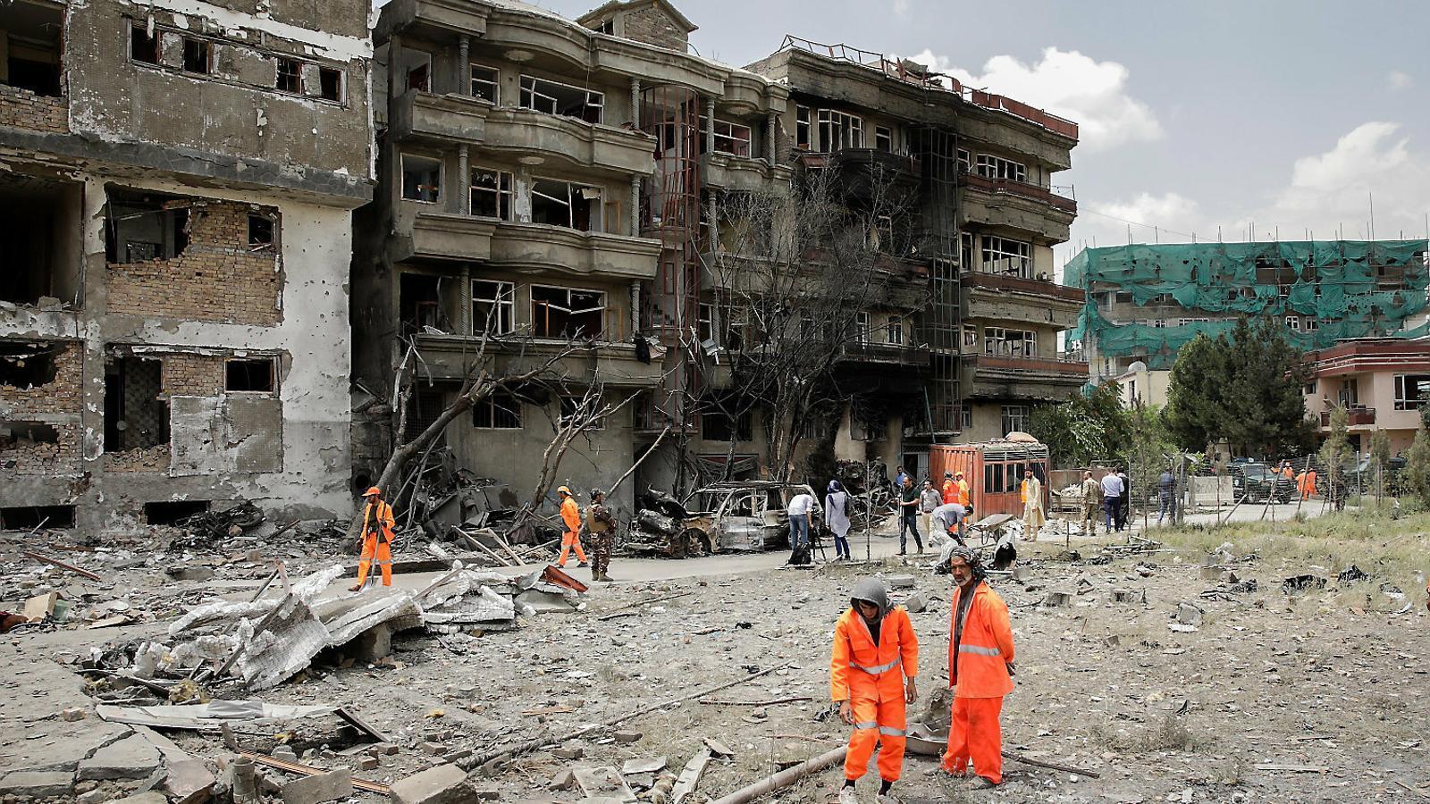 Kabul i l'OTAN maten més civils que els talibans