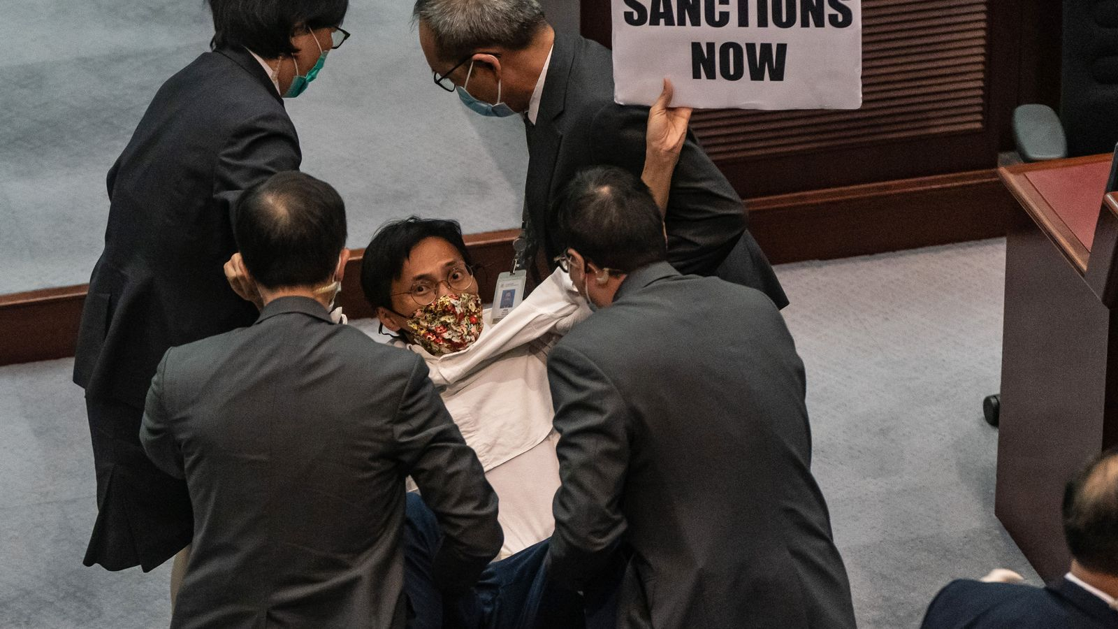 Els pro democràcia de Hong Kong es mobilitzen contra la nova llei de seguretat de la Xina
