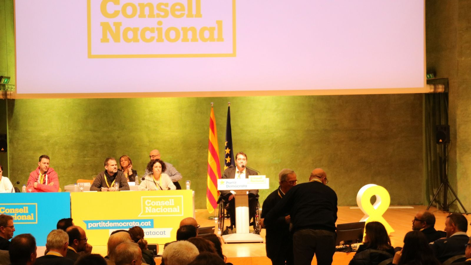 El consell nacional del PDECat en una imatge d'arxiu