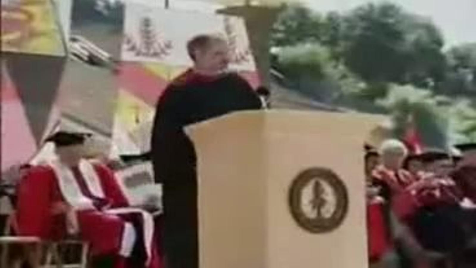 Discurs de Steve Jobs a la Universitat de Stanford (2005)