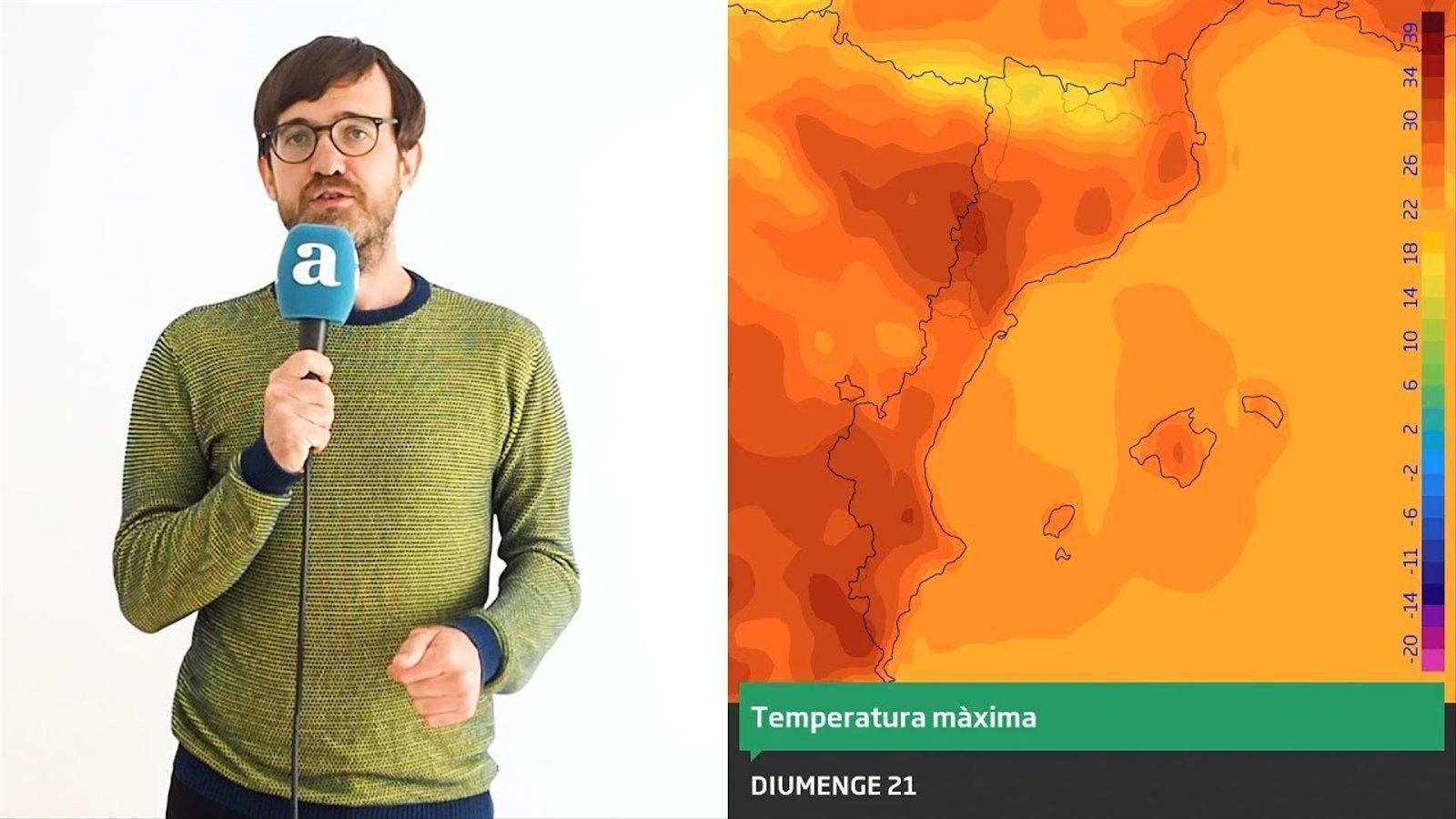 La méteo: la calor tornarà abans de Sant Joan