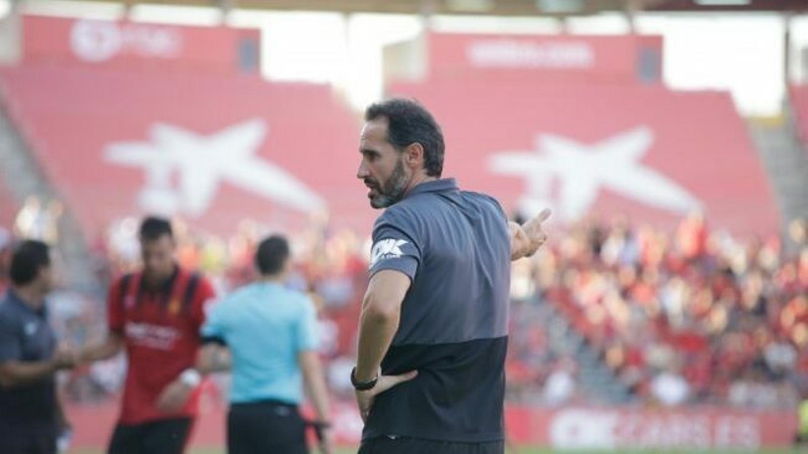 L'entrenador del Mallorca, Vicente Moreno ha estat un dels premiats