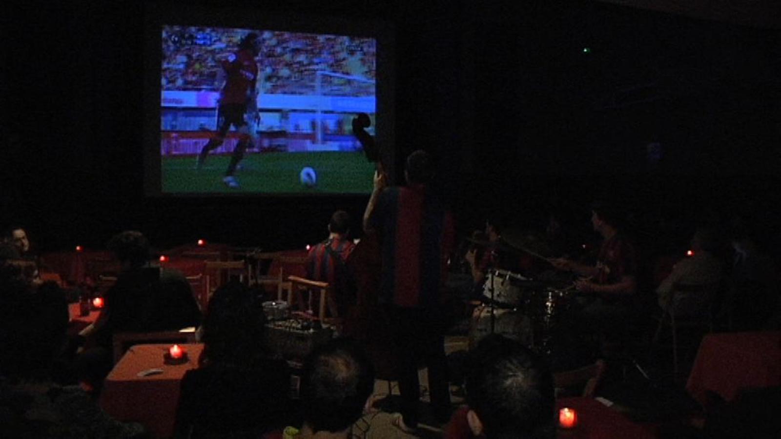 Mallorca-Barça i Los Romarios: futbol i jazz es fusionen als Lluïsos de Gràcia